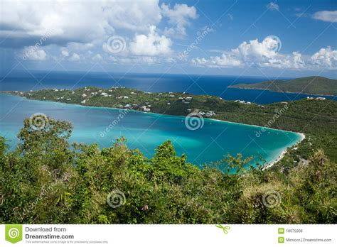 Magens Bay Stthomas Usvirgin Islands Royalty Free