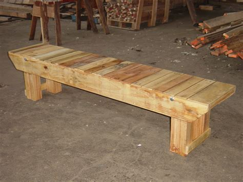 rustic bench diy plans  wooden urn plans