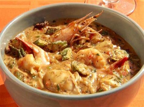 shellfish  andouille gumbo  shrimp scallops clams