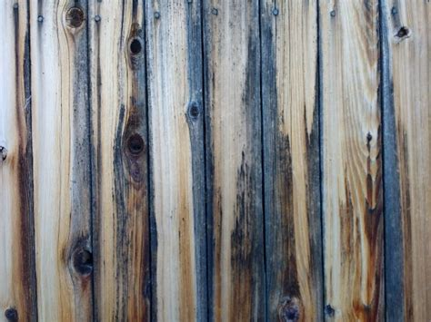 weathered wooden fence boards texture picture