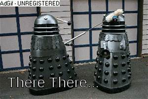 Doctor who dalek there there comfort | Gifs | Pinterest