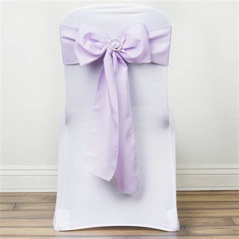 150 polyester chair sashes ties bows wedding