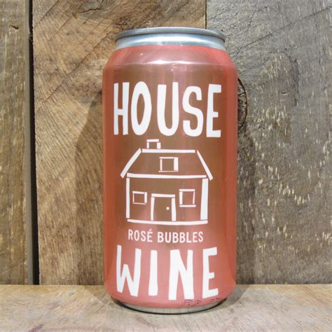 house wine house wine bubbles sparkling can 375ml oak and barrel