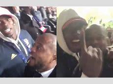 Paul Pogba et Patrice Evra fous de joie au Parc des Princes après l'élimination du PSG vidéo