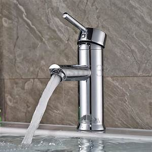Bathroom basin sink mixer tap brass chrome faucet single for Is bathroom tap water drinking water