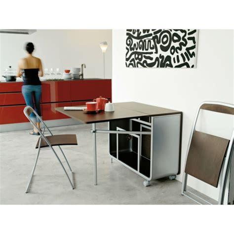 table de cuisine retractable designs créatifs de table pliante de cuisine archzine fr
