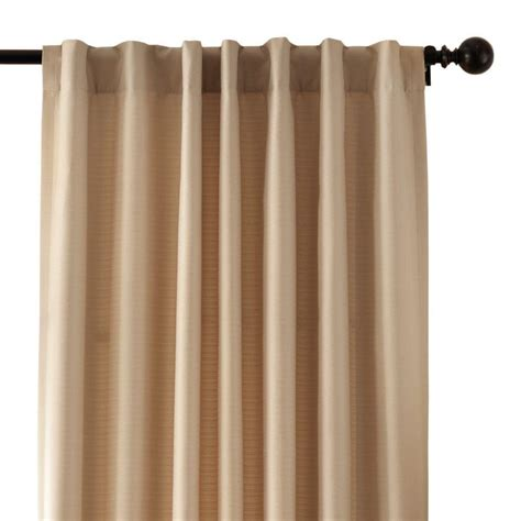Thermalogic Curtains Home Depot by Home Decorators Collection Taupe Textured Thermal Back Tab