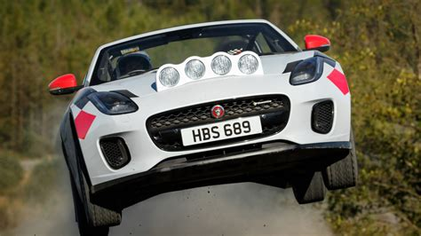 Jaguar F-type 2.0t Rally Convertible Ride-along Review