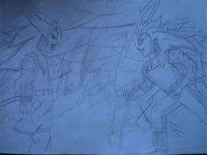 Goku vs Vegeta Super saiyan 5 by mariotime92 on DeviantArt