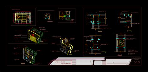 construction detail wall dwg detail for autocad designs cad