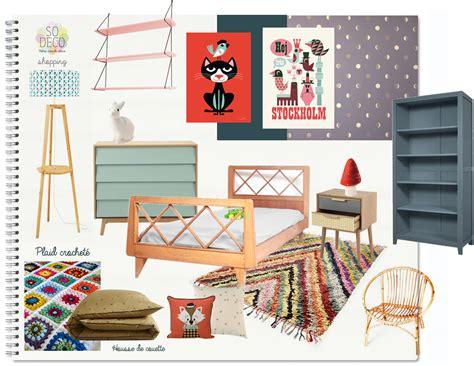 peinture violette chambre une chambre d 39 enfant très vintage