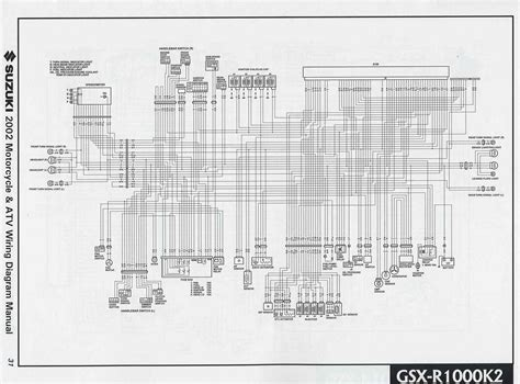 Suzuki Gsx Motorcycle Wiring Diagram All