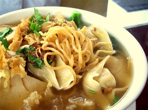 vegan cuisine wonton noodle soup recipe dishmaps