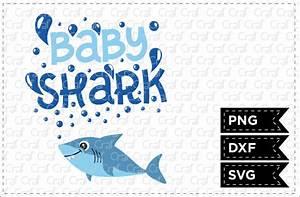 Baby Boy Borders For Invitations Baby Shark By Craf Craf Thehungryjpeg Com