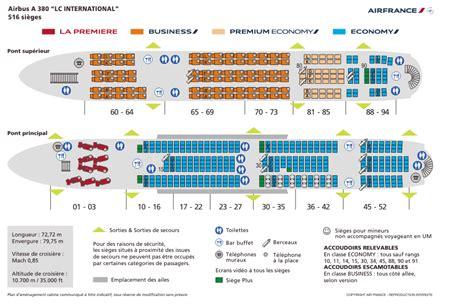 siege a380 air re configuration des a380 en vue air info