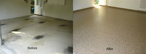 garage floor paint before and after epoxy garage flooring atlanta area and the southeast