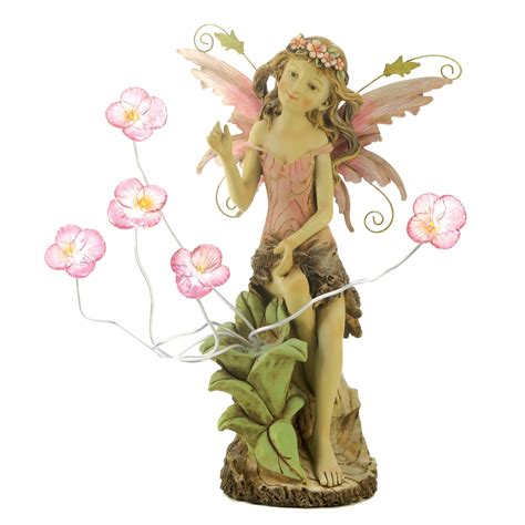 wholesale peony fairy solar statue buy wholesale garden