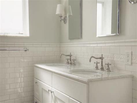 Glass Subway Tile Bathroom Ideas by White Glass Tile Bathroom White Subway Tile Bathroom
