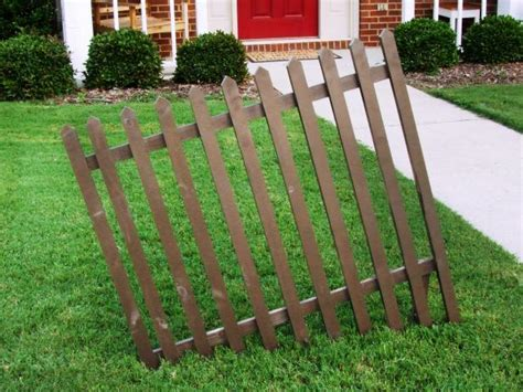 halloween decoration build  crooked cemetery fence