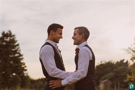 Gay weddings   Parley Manor Dorset   Alan Tony Part 2   Paul Underhill Photography