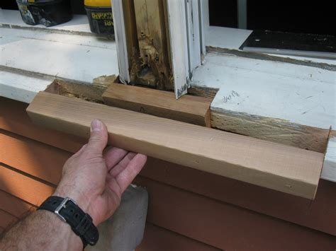 Cosmetic Fix For A Cracked Wooden Window Sill