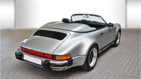porsche speedster 2017 porsche 911 speedster 1989 niemcy giełda klasyków