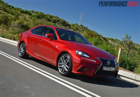 2014 Lexus Is 350 F Sport Review (video)