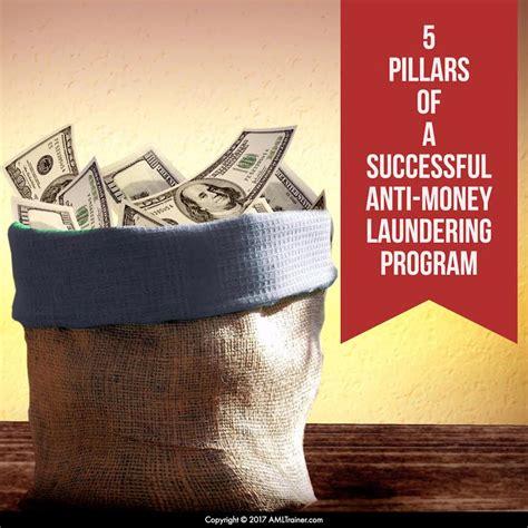 Anti Money Laundering Compliance Program Policies And Anti Money Laundering Program 5 Pillars Of Success