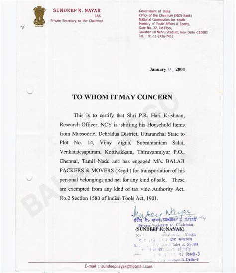 balaji trans carriers clients testimonials samples