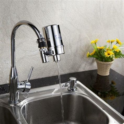 Bathroom Faucet Water Filter by Activated Carbon Household Kitchen Tap Water Purifier