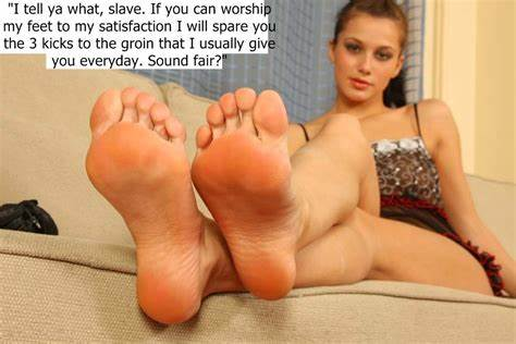 Lez Slave Domination Foot Worship
