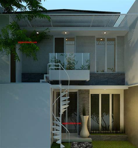 nama atap rumah minimalis gambar om