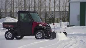 2014 Polaris Glacier Pro Ranger Plow System