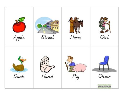 English Activities Resources