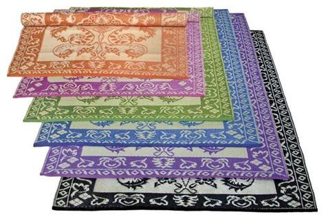 single color plastic outdoor rug