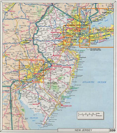 nj road map  travel information   nj road map