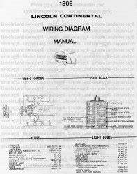 1962 Lincoln Wiring Diagram : lincoln land product details 1962 lincoln continental ~ A.2002-acura-tl-radio.info Haus und Dekorationen