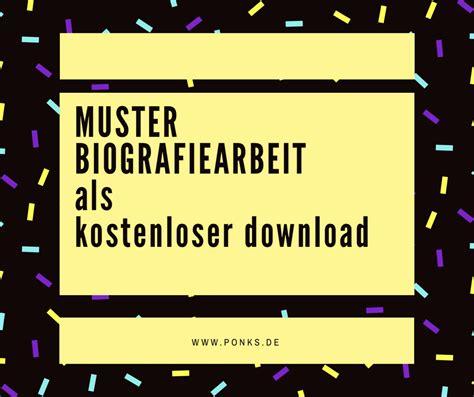 Biografie Vordruck Beispiel by Deckblatt Biografie Altenpflege