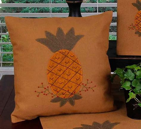 mocha primitive pineapple pillow    raghu