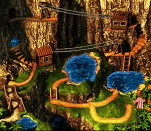 Background HQ :: Donkey Kong Country 3 - World Maps