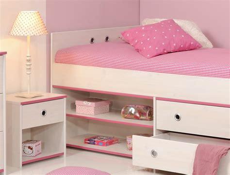 Kinderbett Snoopy 24b Mit Nachttisch Kiefer Weiß