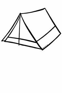 Tent Black And White Clipart - Clipart Suggest