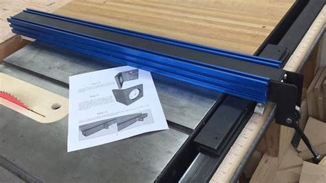 I love the kobalt table saw but frankly the fence is the worse thing ever. Table Saw Fence Upgrade | Brokeasshome.com