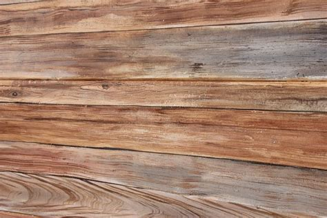 cuisine bois flotté décoration en trompe l 39 oeil d 39 un mur en fibrociment