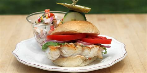 grouper florida sandwich salad potato