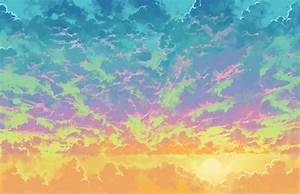Large image of Tumblr Backgrounds For Girls Clouds ...