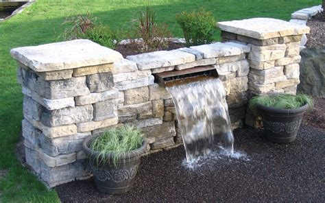 building a waterfall wall eco series waterfall diffuser pond trade magazine