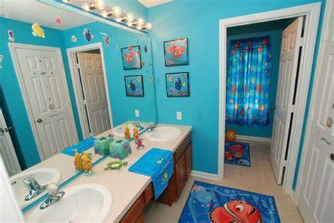 finding nemo themed bathroom  kids house design