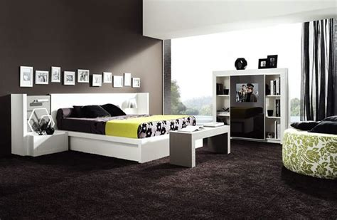 chambre a coucher noir moderne various ideas