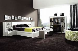 Chambre a coucher noir moderne various ideas pinterest for Chambre a coucher contemporaine